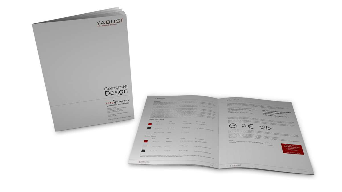 Gestaltung Corporate Design Cityfloater UG